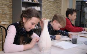 Мастер-классы для детей - роспись