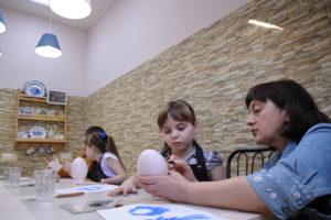 Мастер-классы для детей - гжель